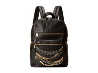 Ash Domino Chain Small Backpack Black Tarnish Silver Matte Gold Backpack Bags
