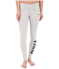 Puma Style Swagger Leggings Light Gray Heather Women's Workout
