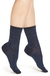 Pendleton Women's 'Diamond River' Anklet Socks Navy