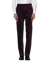 Band Of Outsiders Trousers Casual Trousers Men Deep Purple