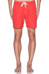 Lightning Bolt Plain Crane 16' Boardshort Coral