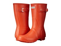 Hunter Original Short Tent Red Women's Rain Boots Orange