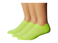 Wrightsock Coolmesh Ii Tab 3 Pack Yellow Low Cut Socks Shoes