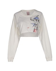 People Topwear Sweatshirts Women Ivory