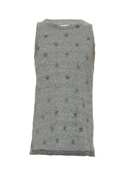 Current Elliott The Muscle Star Print Tank Top
