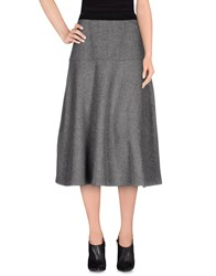 Aquilano Rimondi Skirts 3 4 Length Skirts Women Grey