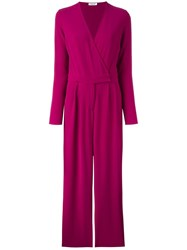 P.A.R.O.S.H. 'Pirata' Jumpsuit Pink Purple