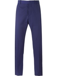 Marni Slim Chino Trousers Blue