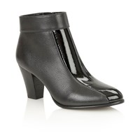 Lotus Cedar Ankle Boots Black