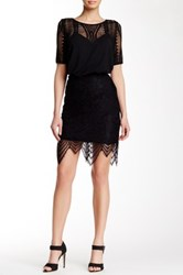Tart Ursula Lace Skirt Black