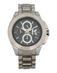 Karl Lagerfeld Wrist Watches Silver