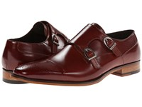 Stacy Adams Trevor Cognac Men's Monkstrap Shoes Tan