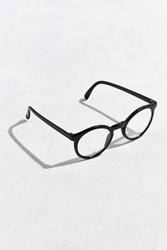 Urban Outfitters Plastic Round Readers Black