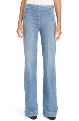Frame Women's High Rise Flare Sailor Jeans