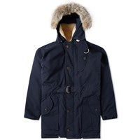 Nigel Cabourn Antarctic Parka Black