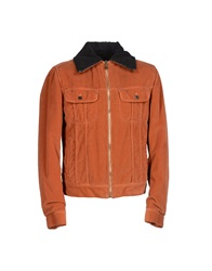 Dandg D And G Jackets Rust