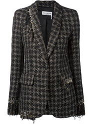 Sonia Rykiel Safety Pin Detail Blazer Black