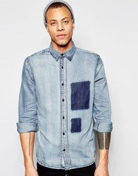 Cheap Monday Air Cutout Shirt Blue