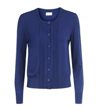 Escada Sport Drop Stitch Cardigan Female Blue