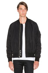 Brace Bomber Jacket Black
