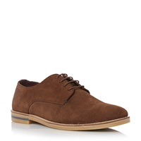 Howick Biscuit Lace Up Derby Shoes Brown
