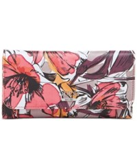 Guess Huntley Slim Clutch Wallet Passion Floral