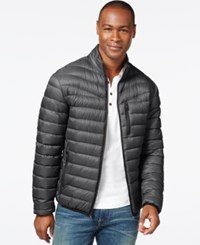Inc International Concepts Solid Down Packable Jacket Only At Macy's Grey