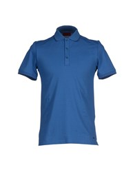 Hugo Topwear Polo Shirts Men Pastel Blue