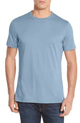 Robert Barakett Men's 'Georgia' Crewneck T Shirt Blue Bell