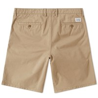 Norse Projects Aros Light Twill Short Brown