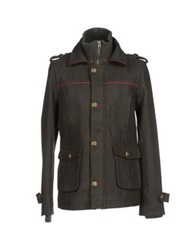 Red Soul Jackets Military Green