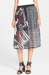 Clover Canyon 'Warrior Weave' Skirt Multi