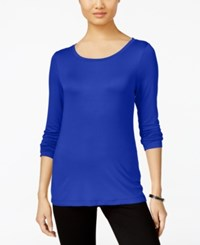 Cable And Gauge Long Sleeve Knit Top Surf The Web