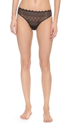 Cosabella Papyrus Low Rise Thong Black
