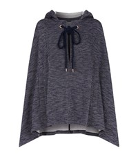 See By Chloe Hooded Cape Female Navy