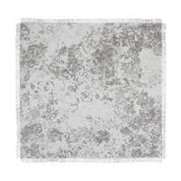 Chilewich Faded Floral Square Placemat Black White
