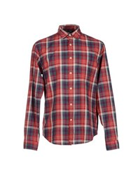 Alex Mill Shirts Shirts Men Red
