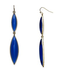 Aqua Brynn Marquis Drop Earrings Blue
