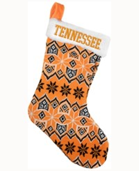 Forever Collectibles Tennessee Volunteers Ugly Sweater Knit Team Stocking Orange