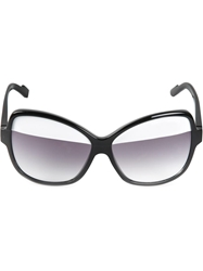 Courreges 'Paupier' Sunglasses Black