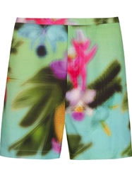 Osklen Tropical Print Shorts Green