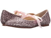 Blue By Betsey Johnson Lia Blush Glitter Women's Flat Shoes Pink