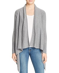 Bloomingdale's C By Basic Open Cashmere Cardigan Slate