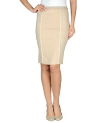 Massimo Rebecchi Knee Length Skirts Light Pink