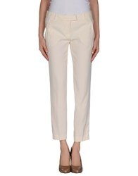 Moschino Cheap And Chic Moschino Cheapandchic Trousers 3 4 Length Trousers Women Ivory