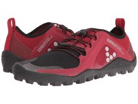 Vivobarefoot Primus Trail Soft Ground Red Black Women's Shoes