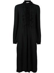 Veronique Branquinho Peasant Dress Black