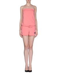 Billabong Short Overalls Pink