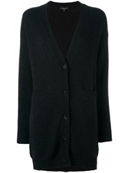 Roberto Collina V Neck Cardigan Black