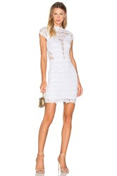 Nightcap Dixie Lace 16Th District Mini Dress White